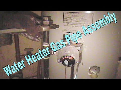 Water Heater Proper Gas Assembly At Control Valve👍👍👍