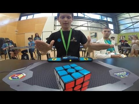 New Speed-Solving Record Set for Rubik's Cube