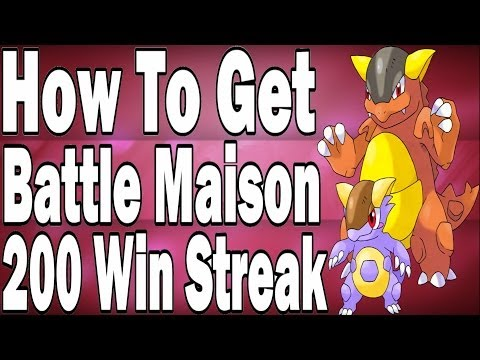 Dragon's Guide On How To Get a Battle Maison 100 to 200 Win Streak In Pokemon X and Y