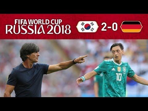 KOREA 2-0 GERMANY - WTF HAPPENED?! HOW?!