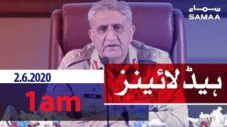Samaa Headlines - 1am | Public transport khulegi ya nahi?
