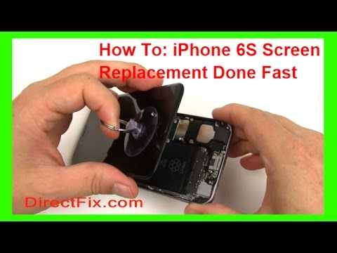 How to iPhone 6s Screen Repair done in 3 minutes