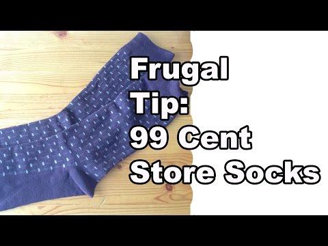 Frugal Tip - 99 Cent Store Socks