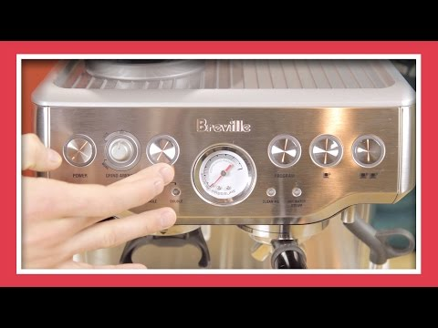 Adjusting Temperature On A Breville Espresso Machine | Tune Up For What