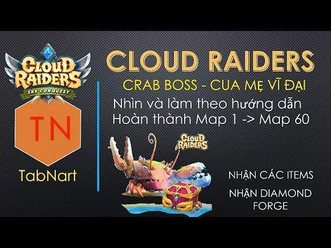 CloudRaidersVN –Hướng Dẫn Hack Boss King Snappy Game Cloud Raider 2 Insight- Phiên Bản 1