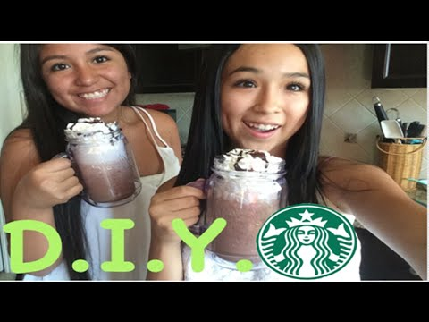 DIY Double Chocolate Chip Frappuccino
