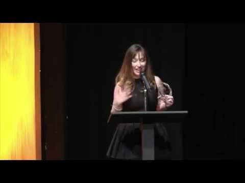 ISA5 Best Writing - Drama Award | Lisa Gifford Acceptance Speech | 3some web series