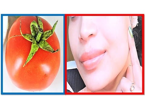 Tomato Facial for skin Whitening Lightening Brightening with 3 step in Hindi