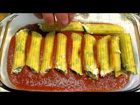 How to make Manicotti - Manicotti with Italian Sausage and Spinach
