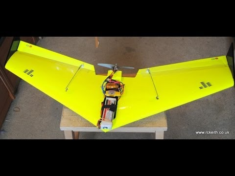 RC Fly Wing  CNC hot wire made
