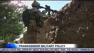 Canadian military's policies around transgender members