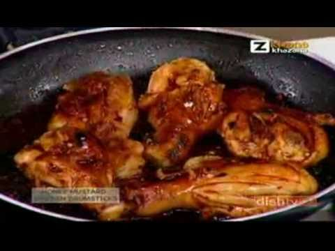 Honey Mustard Chicken Drumsticks - Sanjeev Kapoor - Quick Chef