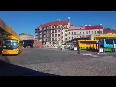 Florenc Prague, main bus terminal in the city