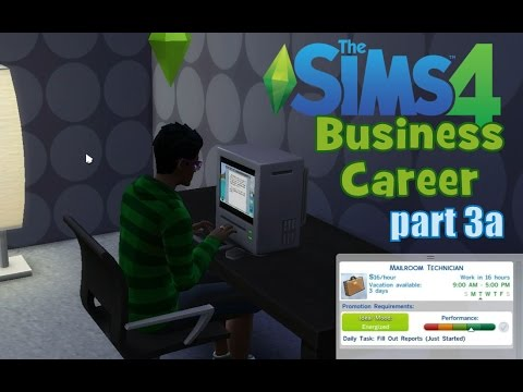 The Sims 4: Business Career part 3a - He should've been a repairman