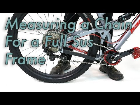 How to Install a New Chain on a Full Suspension Mountain Bike
