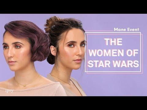 Star Wars Inspired Hair Tutorial   ipsy Mane Event