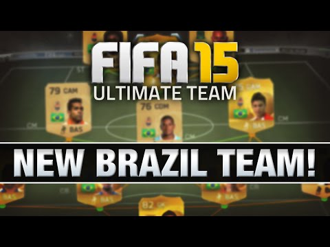 LET'S PLAY FIFA 15 - #10 'NEW CHEAP BRAZIL SQUAD' - FIFA 15 ULTIMATE TEAM RTG