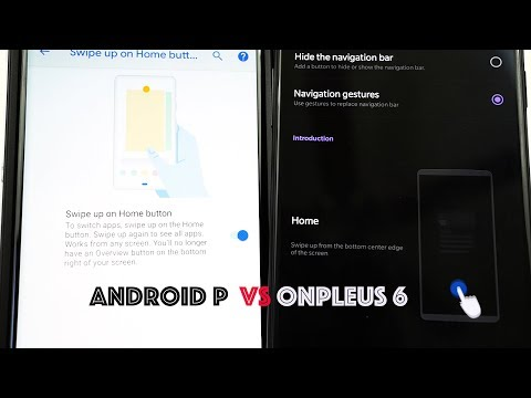 OnePlus 6 vs Android P Gestures: Who Does it Better?