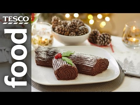 How to Make a Yule Log | Tesco Food