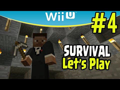 Minecraft Wii U Survival Let's Play -