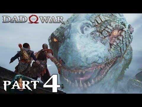 GOD OF WAR 4 | Part 4 | The World Serpent | Gameplay Walkthrough