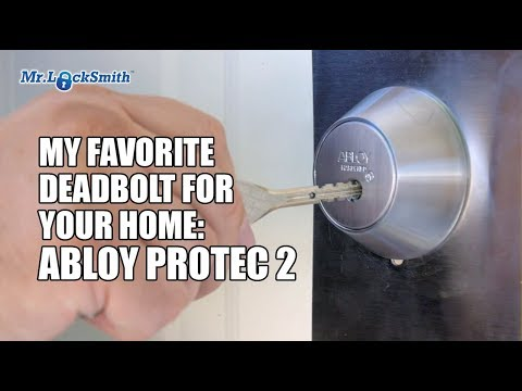 My Favorite Deadbolt for your home: Abloy Protec 2   Mr. Locksmith Video