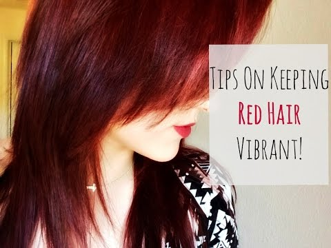 Tips On Keeping Red Hair Vibrant! | ChelseaMBeauty❤