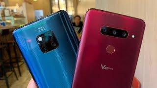 LG V40 Vs. Huawei Mate 20 Pro Wide-Angle Lens Shootout