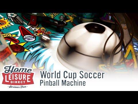World Cup Soccer Pinball Machine (Bally 1994)