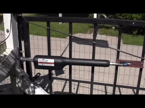 How to install mighty mule gate opener