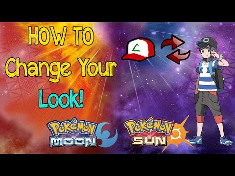 How To Change Character Look/Appearance - Pokemon Sun + Moon!