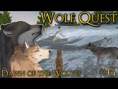 A Den For Our Wolf Pups!! 🐺 WOLF QUEST: DAWN OF THE WOLVES 🐺 Episode #6