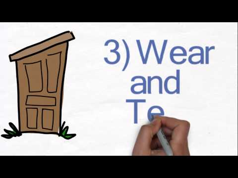 Five things to check in an old house