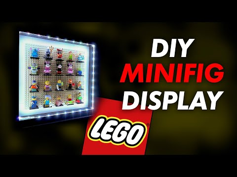 Build The Ultimate LEGO Minifig Display Case