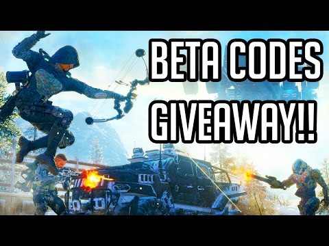Black Ops 3  Gameplay - BETA CODE GIVEAWAY!! (PS4 1080p 60fps)