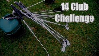The 14 Club Challenge Against Pro Golfer Zac Radford