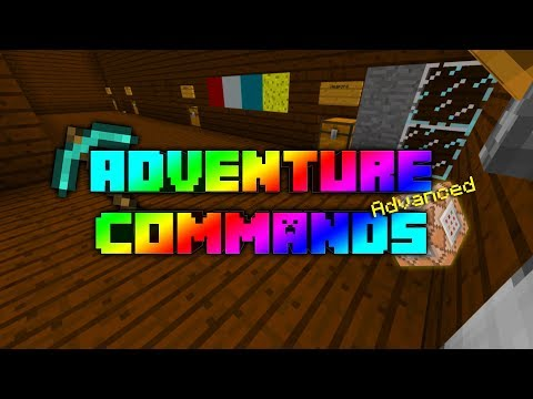 Minecraft: Commands For Adventure Maps