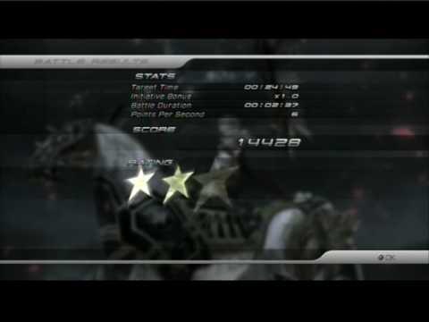 Final Fantasy XIII - Odin - Eidolon Battle