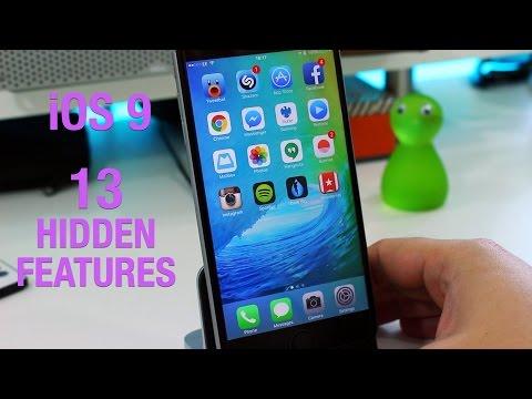 13 hidden features in iOS 9 beta
