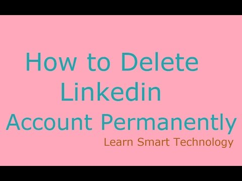 How to Delete Linkedin Account Permanently | How to Remove/Close Linkedin Account Permanently