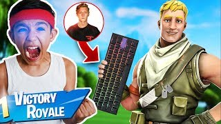 Cloakzy Vs  Tfue's Keyboard: We Try Gaming Keyboards Used By Pro