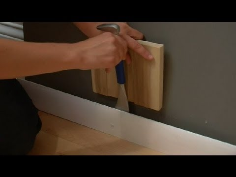 How to Remove a Wall Baseboard Without Damage : Design Tips for the Home