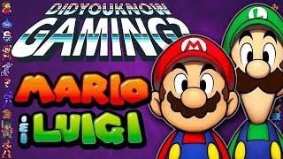 Mario & Luigi Games - Did You Know Gaming? Feat. Chris Niosi
