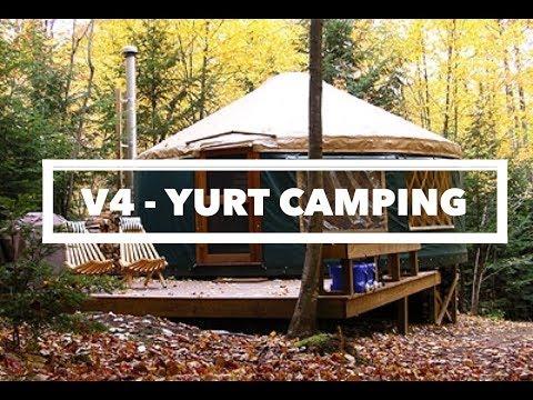 V4 - YURT CAMPING - NORTH CAROLINA - PART 1