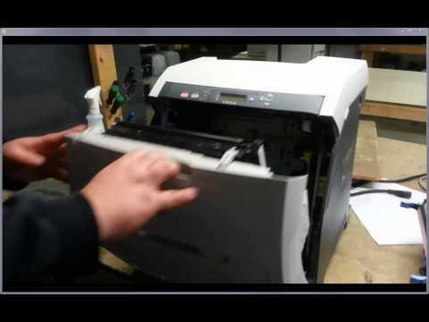 HP LJ 3600 3800 CP3505 ETB install/uninstall & Fuser Install/uninstall
