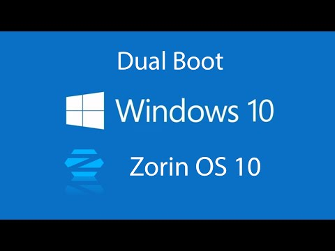 How to Dual Boot Windows 10 with Zorin OS 10 2016