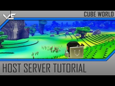 Cube World Multiplayer Server Tutorial (How to Host + Port Forwarding)