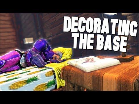 DINOSAUR THEMES BEDROOM! - Ark Survival Evolved (Modded)
