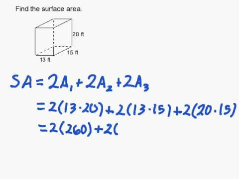 How to Find the Surface Area of a Rectangular Prism
