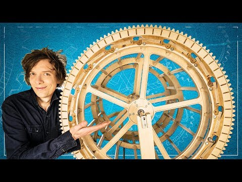 Marble Machine X #24 - PLYWOOD GEARS